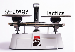 Scales with Strategy and Tactics